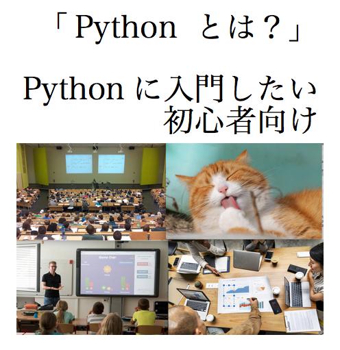 Python とは Python 入門