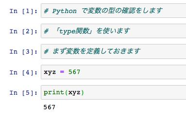 Python 型 確認 サンプル コード 1