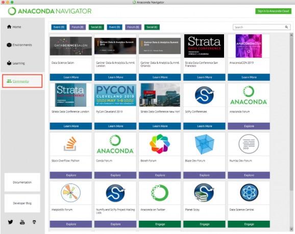 anaconda python 実行 tacos anaconda navigator Community2