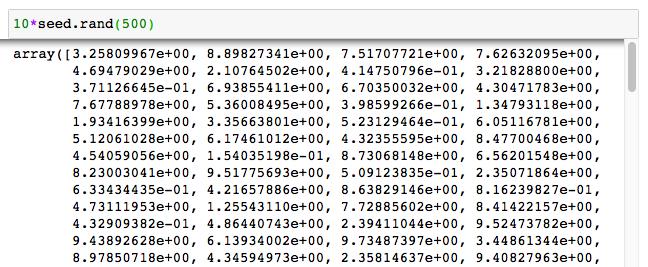 ニューラルネットワークモデル回帰 サンプル コード 5 データ生成 切片1