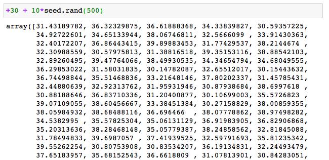 ニューラルネットワークモデル回帰 サンプル コード 6 データ生成 切片2